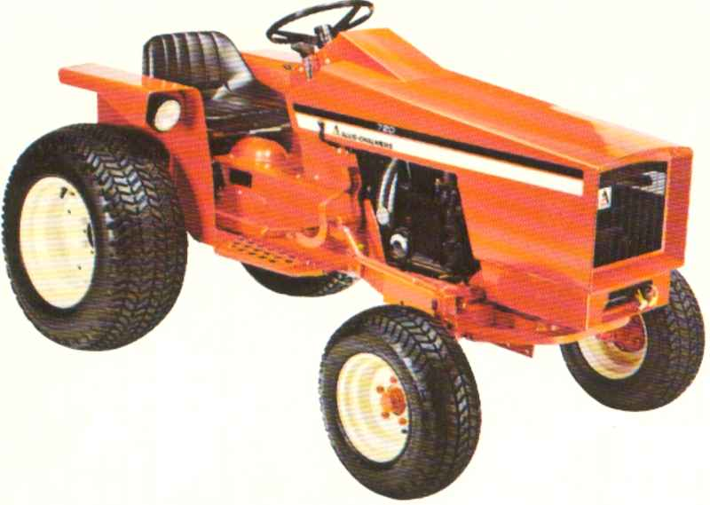 Allis Chalmers 720 Garden Tractor Garden Ftempo