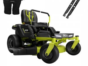 Electric ride on mowers ..the future is about here now
