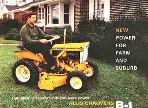 B-1 Brochure Cover