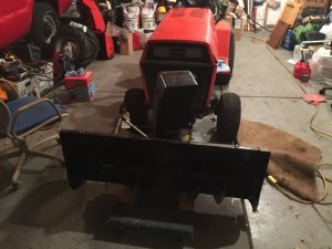 Sunstar can't get snowblower drive shaft attached