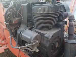 Front engine shaft