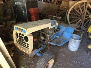 70s Montgomery wards tractor