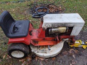 Homesteader 7 Front Wheel/Tires Needed
