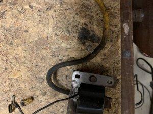 Splicing a spark plug wire