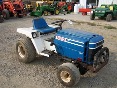 ford lgt 195 garden tractor update with loader talking