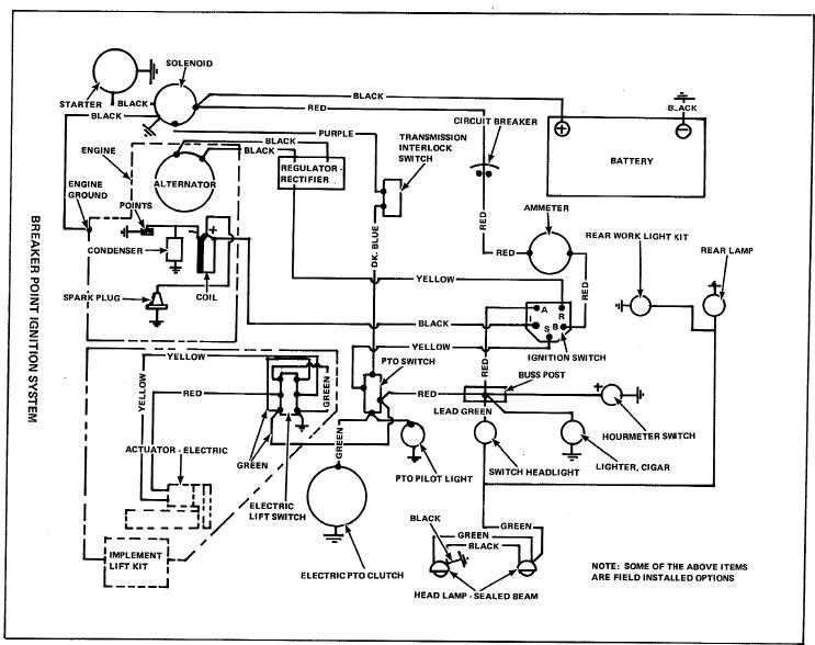 key switch replacement talking tractors simple tractors i should have asked this first before i blew something up i have a new key switch which is to replace the switch on my ac 312h the diagram is here