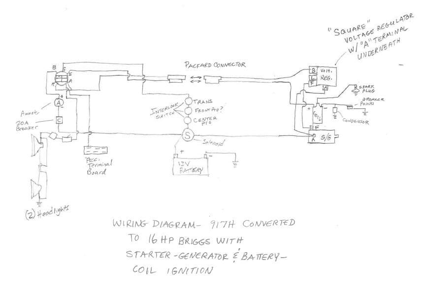 wiring diagram for allis chalmers 912 allis chalmers fan