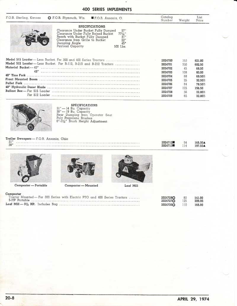 Allis Lawn  Garden 1974 Price List0007.jpg