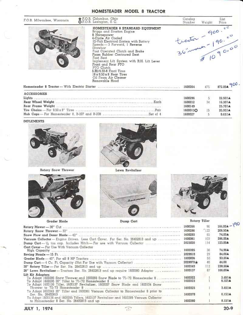 Allis Lawn  Garden 1974 Price List0008.jpg