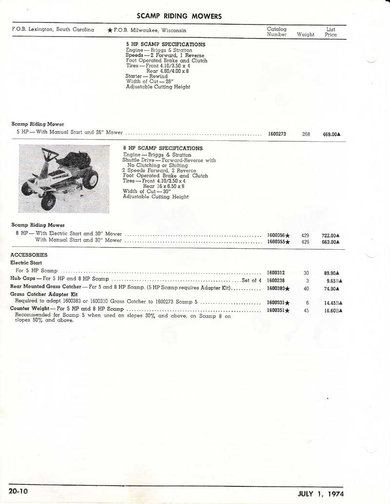 Allis Lawn  Garden 1974 Price List0009.jpg