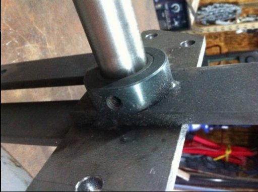 Bench mockup - close up of shaft collar with bearing pressed in.jpg
