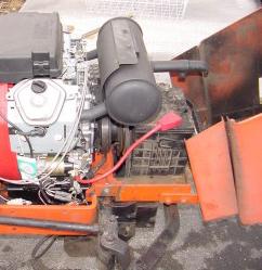Honda GX670 muffler - Talking Tractors - Simple trACtors