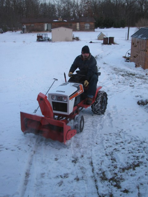 4211 snowblower attachment - Talking Tractors - Simple trACtors