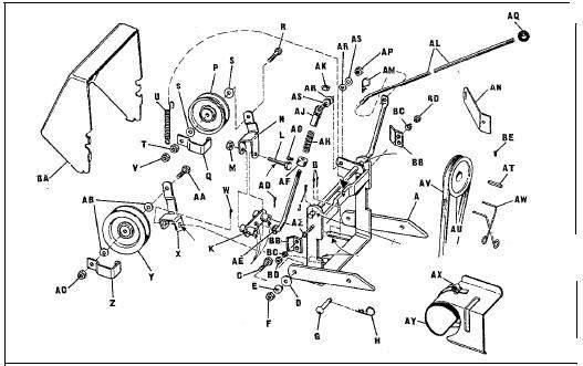 john deere 1032 snow blower wiring diagram john deere gas