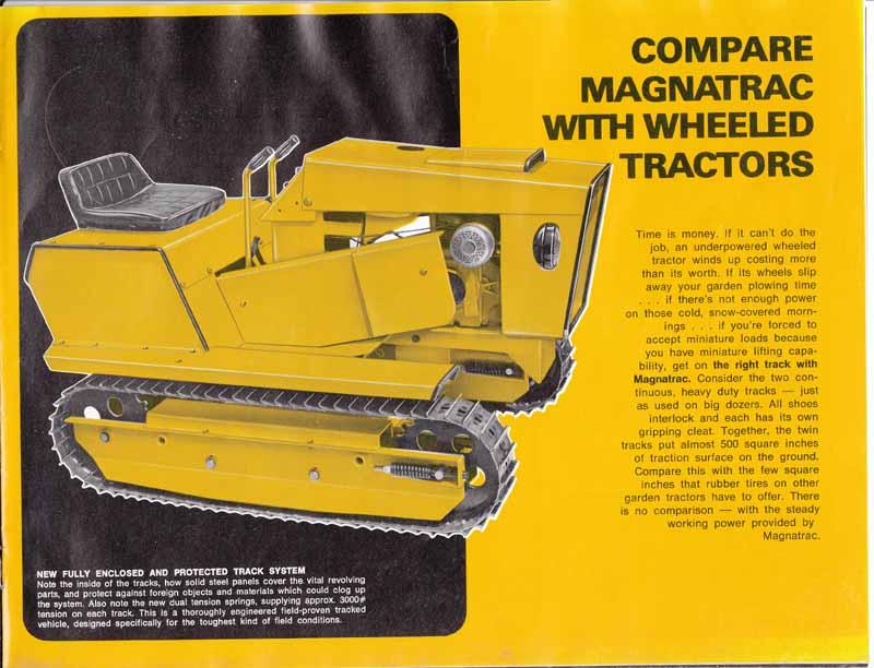 Struck Magnatrac Mini Crawler 1975 - Show & Tell - Simple trACtors