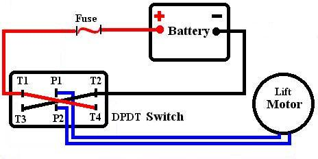 Wiring Diagrams SPDT & DPDT Switches - Answers to Commonly Asked Questions  - Simple trACtors | Dpdt Wiring Diagram |  | Simple trACtors