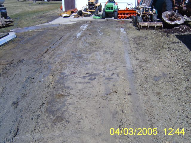 Dug up driveway today with Earthcavator - Show & Tell