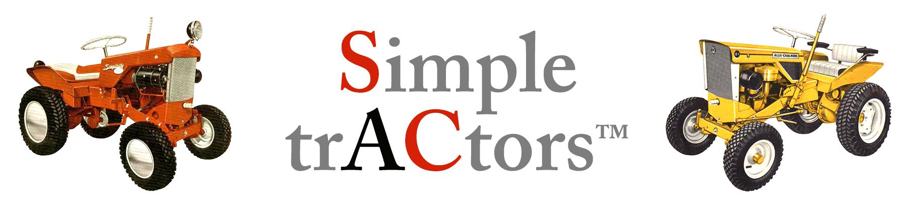 Simple trACtors
