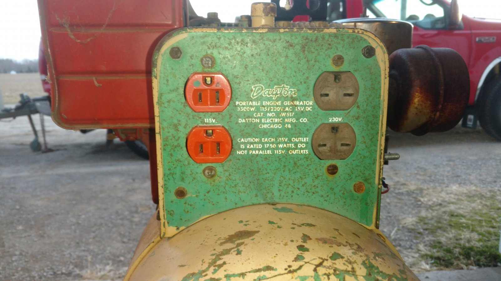Dayton generator barn find - Show & Tell - Simple trACtors on