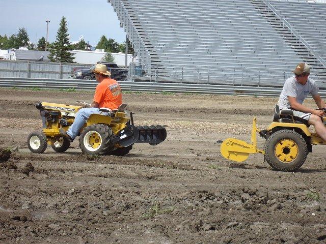 Dirt work demo