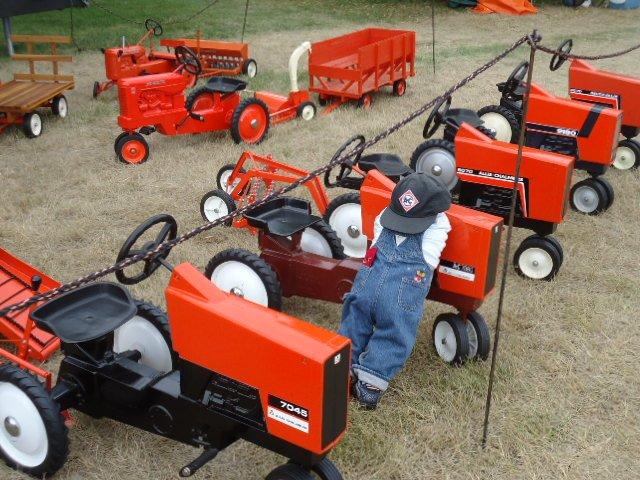 Pedal Tractors & custom implements