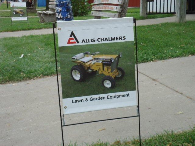 Orange Spectacular Lawn & Garden Equipment Show Building Here