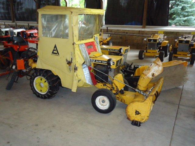 Original AC snow cab - unit ready for snow