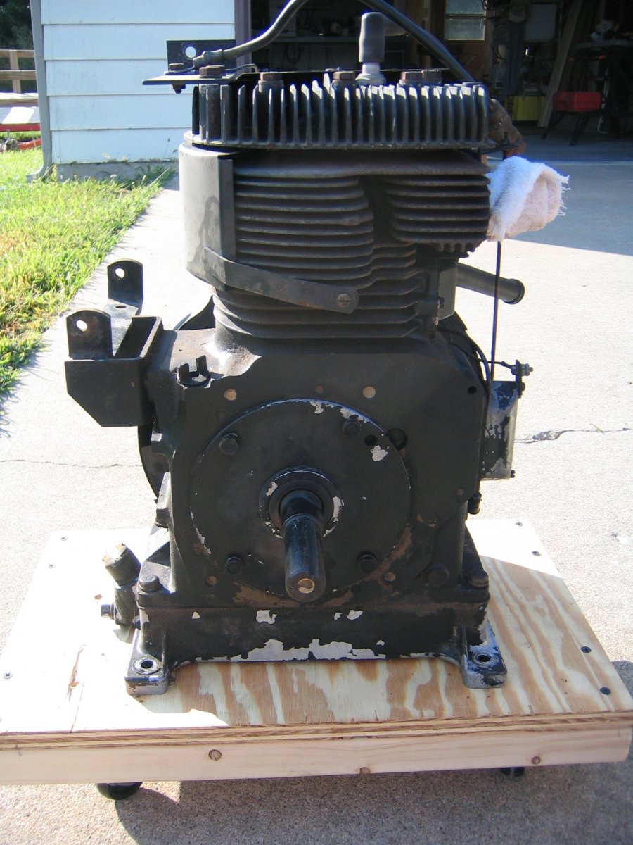 Briggs 16HP Repower in the 2010