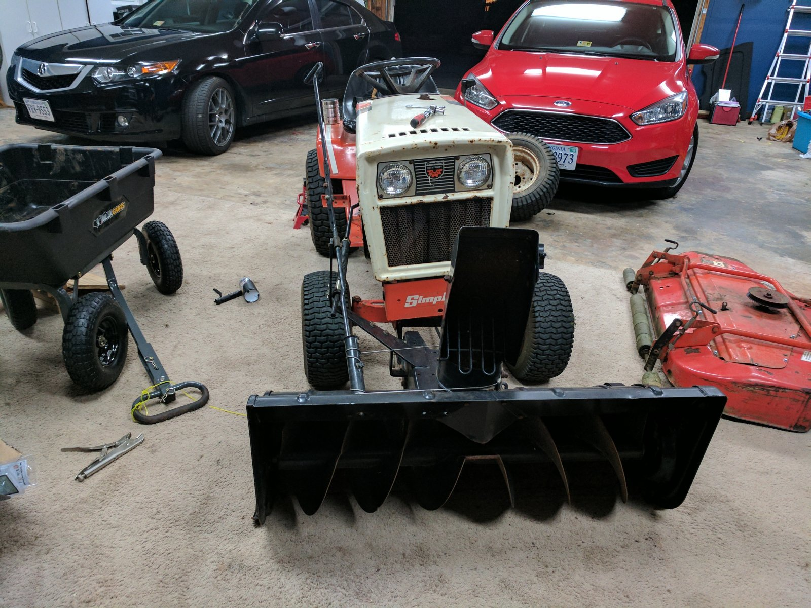 Will this snowblower fit my Simplicity 7117? - Talking
