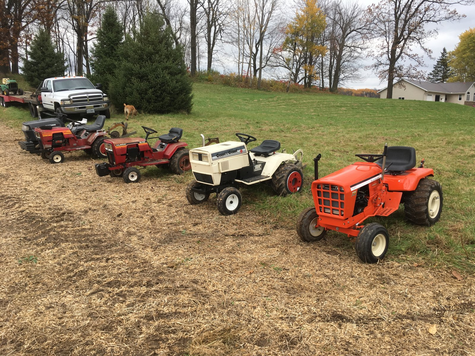 Knapp Plow Day - Show & Tell - Simple trACtors