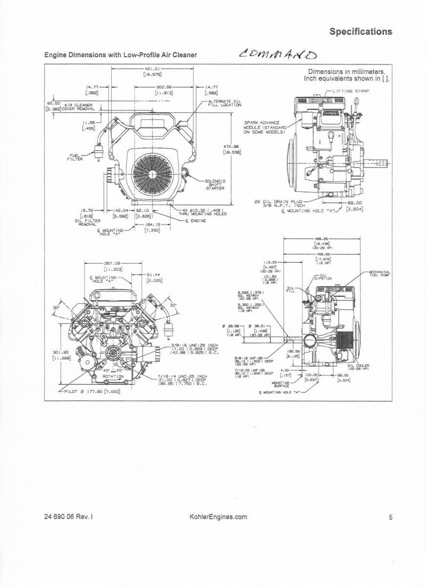 kohler command 12 5 ohv wiring diagram repowering triad sovereign talking tractors simple tractors  repowering triad sovereign talking